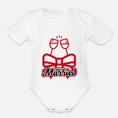 Marry Married - Organic Short Sleeve Baby Bodysuit