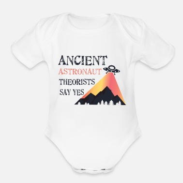 Ancient UFO Ancient - Organic Short-Sleeved Baby Bodysuit