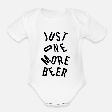 Solemnize Sb beer - Organic Short-Sleeved Baby Bodysuit
