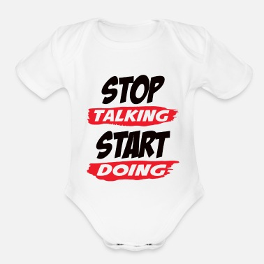 Motivation Books Motivation - Organic Short-Sleeved Baby Bodysuit