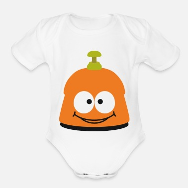 Container soap container - Organic Short-Sleeved Baby Bodysuit