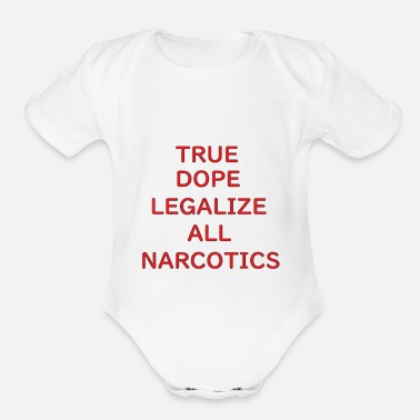 Legalize Legalize - Organic Short-Sleeved Baby Bodysuit