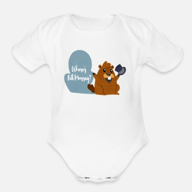 Shade Funny Murray Groundhogs Day Tshirt Holiday Gift - Organic Short Sleeve Baby Bodysuit