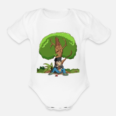 Guys guy - Organic Short Sleeve Baby Bodysuit