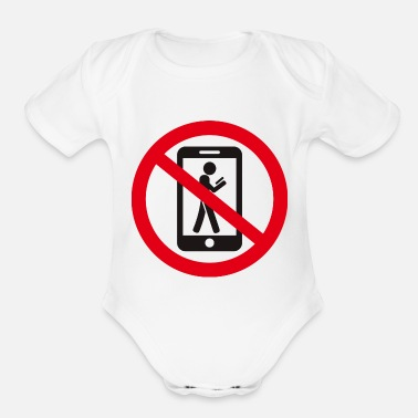 Prohibited the prohibition - Organic Short-Sleeved Baby Bodysuit