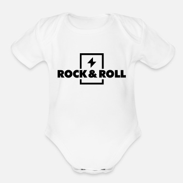 Rock N Roll Rock & Roll 20 - Organic Short Sleeve Baby Bodysuit