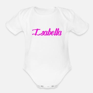 c2f23ace8af Isabella Isabella - Organic Short-Sleeved Baby Bodysuit