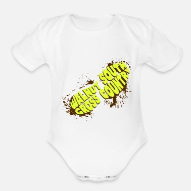 Country Cross Country - Organic Short-Sleeved Baby Bodysuit