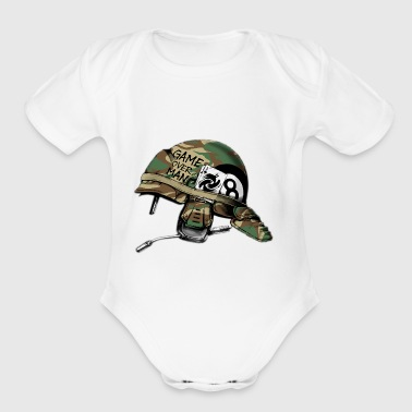 marines - Organic Short Sleeve Baby Bodysuit