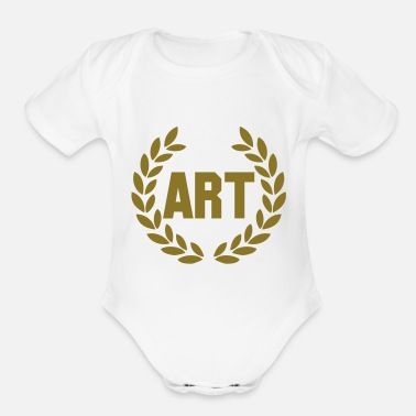 Deluxe art deluxe - Organic Short-Sleeved Baby Bodysuit