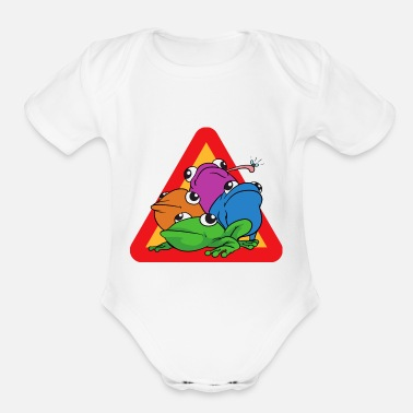Toad Frog Toad - Organic Short Sleeve Baby Bodysuit