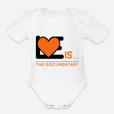 Documentaries Love is...the documentary - Organic Short-Sleeved Baby Bodysuit