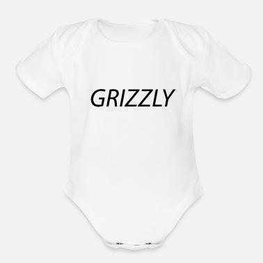 Grizzly grizzly - Organic Short Sleeve Baby Bodysuit