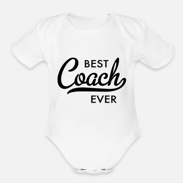 Coach Coach - Organic Short-Sleeved Baby Bodysuit