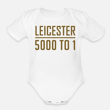 Leicester Leicester Odds - Organic Short-Sleeved Baby Bodysuit