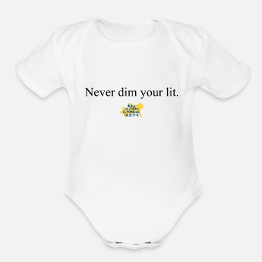 Motto The Motto - Organic Short-Sleeved Baby Bodysuit