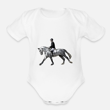 Comic Rider - Organic Short-Sleeved Baby Bodysuit