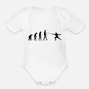 Born In born to be a - Organic Short Sleeve Baby Bodysuit