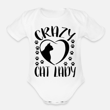 I Love I love - Organic Short-Sleeved Baby Bodysuit
