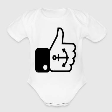 Tatoos - Organic Short Sleeve Baby Bodysuit