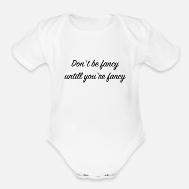 Cool Quote Cool quote - Organic Short-Sleeved Baby Bodysuit