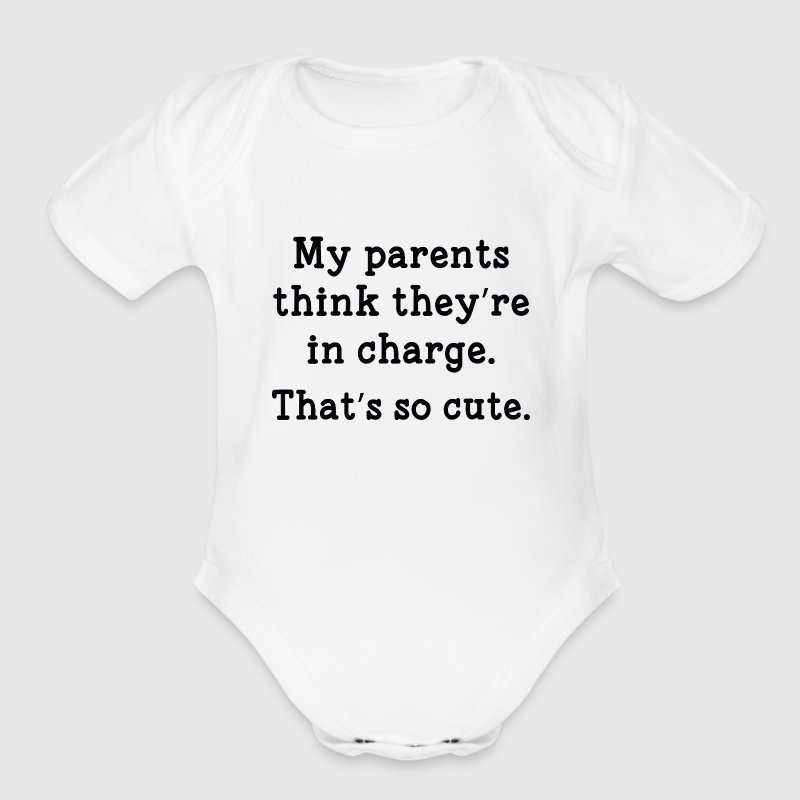 That's So Cute - Organic Short Sleeve Baby Bodysuit