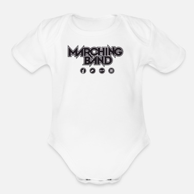Marching Band Marching Band - Organic Short Sleeve Baby Bodysuit