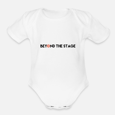 Stage beyond the stage - Organic Short-Sleeved Baby Bodysuit