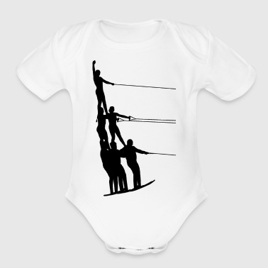 Water Sports Water Ski Water Sports - Organic Short Sleeve Baby Bodysuit