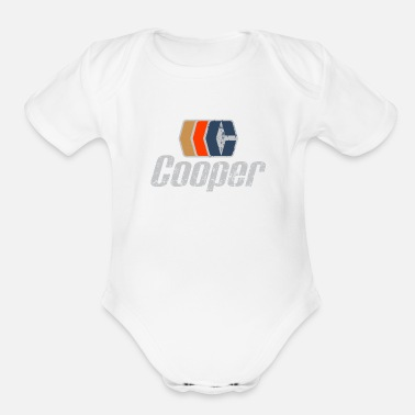 Hockey cooper hockey - Organic Short-Sleeved Baby Bodysuit