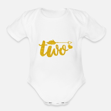2nd Birthday Birthday Outfit/Girl 2 Year Old Birthday - Organic Short Sleeve Baby Bodysuit