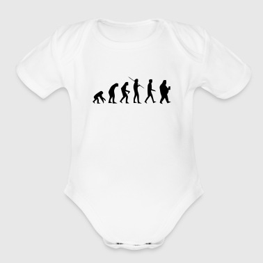 FAT EVOLUTION - Organic Short Sleeve Baby Bodysuit