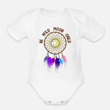 Dream Catcher Dream Catcher - Organic Short Sleeve Baby Bodysuit