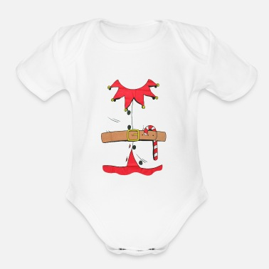 Costume-garb elf costume - Organic Short-Sleeved Baby Bodysuit