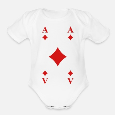 Card Cards - Organic Short-Sleeved Baby Bodysuit