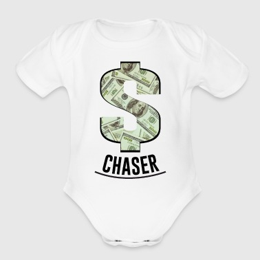 MONEY CHASER - Short Sleeve Baby Bodysuit