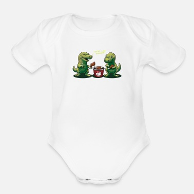 Flavor A Familiar Flavor - Organic Short-Sleeved Baby Bodysuit