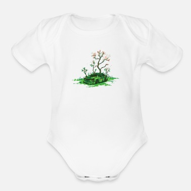 Eco Eco Friendly - Organic Short Sleeve Baby Bodysuit