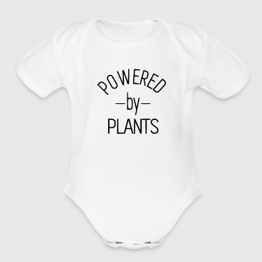 POWERED BY - Organic Short Sleeve Baby Bodysuit
