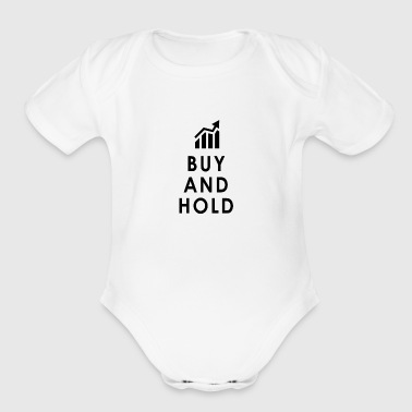 Investing - Buy and Hold - Organic Short Sleeve Baby Bodysuit