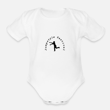 Jumpstyle Jumpstyle Festival - Organic Short-Sleeved Baby Bodysuit