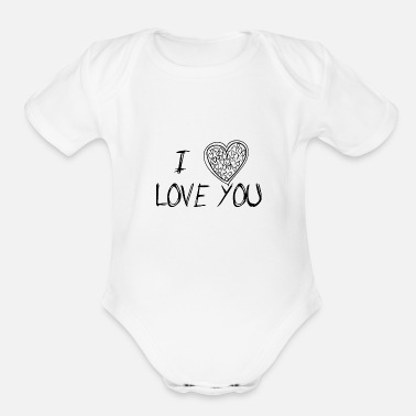 Full Figured Full Love - Organic Short-Sleeved Baby Bodysuit