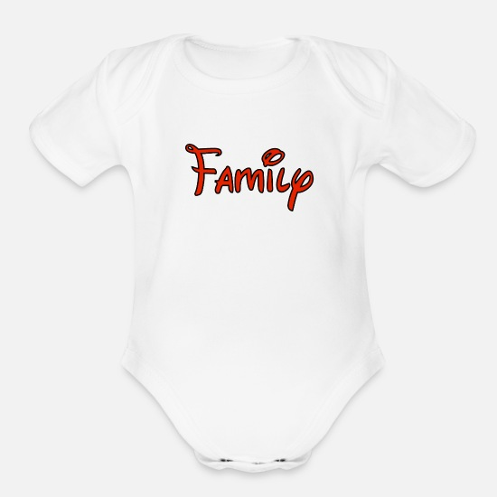 Canada Baby Clothing - Family - Organic Short-Sleeved Baby Bodysuit white