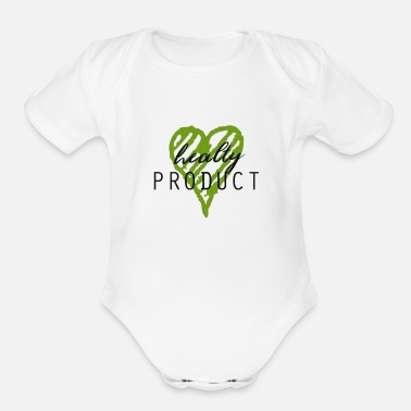 Production Year Healty product - Organic Short-Sleeved Baby Bodysuit