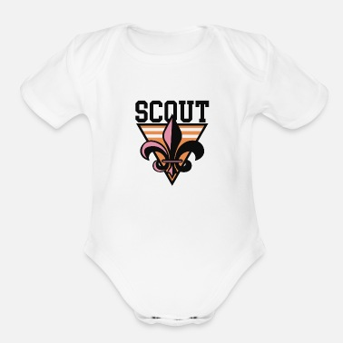 Boy Scouts Scout - Organic Short-Sleeved Baby Bodysuit