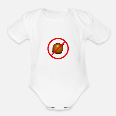 Onion No onion - Organic Short Sleeve Baby Bodysuit