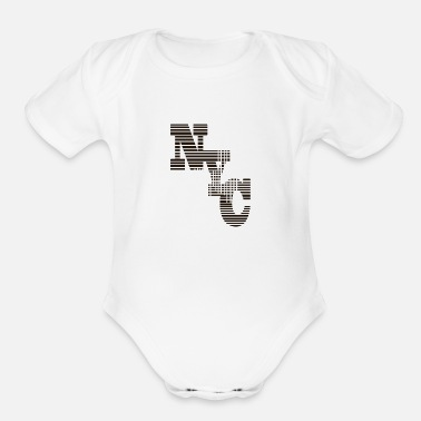 Nyc NYC - Organic Short-Sleeved Baby Bodysuit