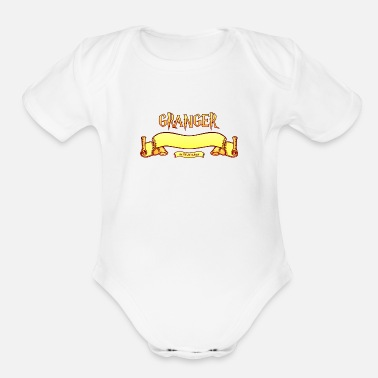Hermione Granger Search Engine - Organic Short Sleeve Baby Bodysuit