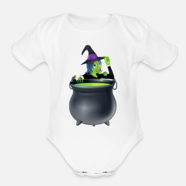 Magic Potion Make Magic Potions Funny - Organic Short Sleeve Baby Bodysuit