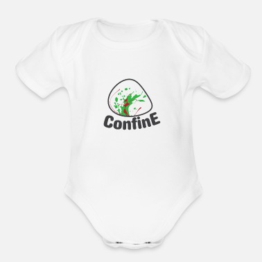 Confined Confine - Organic Short-Sleeved Baby Bodysuit